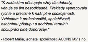 tlumočení a překlady AJ Brno reference